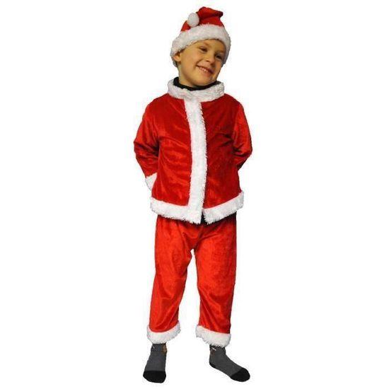 89131b5a9f848 Costume Pere Noel Enfant 5 ans - Déguisement Fête Carnaval - 915 ...
