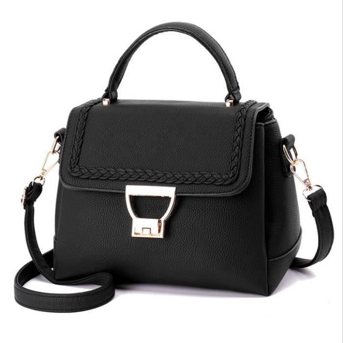 e83201503aa19 sac à main femme noir sac à main femme de marque qualité supérieure cartable  femme sac cabas femme de marque meilleur sac à main