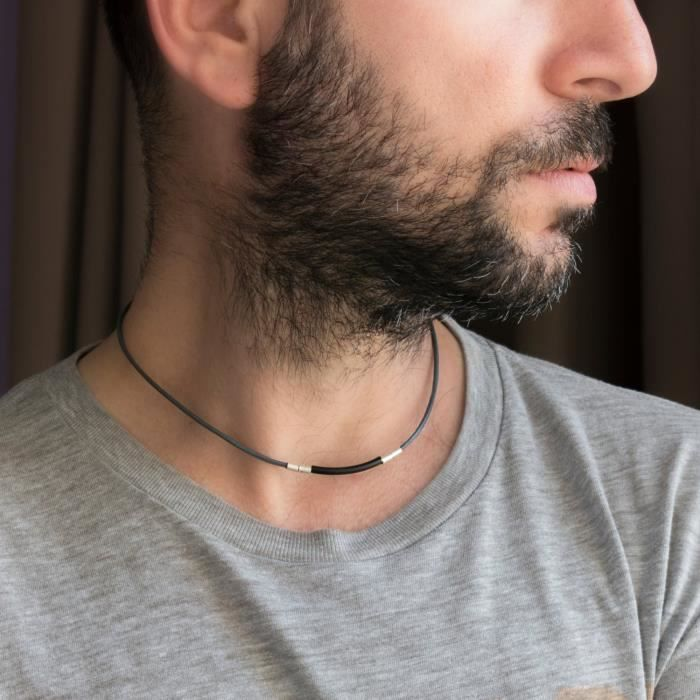 Womens Necklace - Choker Necklace - Leather Necklace - Jewelry - Guys Jewelry - Guys Necklace - Ne YITEQ
