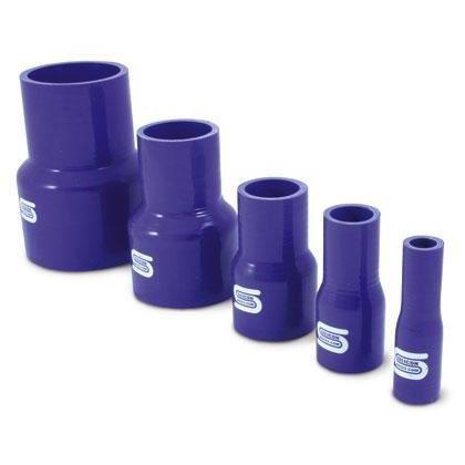 DURITE ADMISSION - AIR Reducteur Silicone Droit - D19-13mm - Bleu