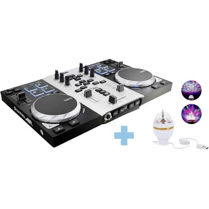 TABLE DE MIXAGE HERCULES DJControl Air S - Table mixage