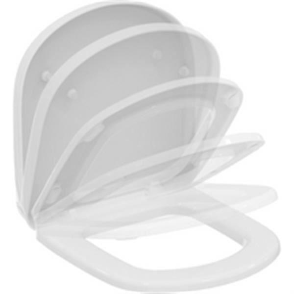 WC - TOILETTES Ideal standard Abattant avec frein de chute pour c