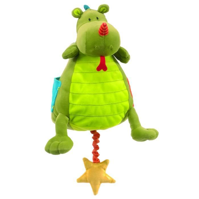 PELUCHE Lilliputiens Walter The Dragon Musical Baby Toy MY