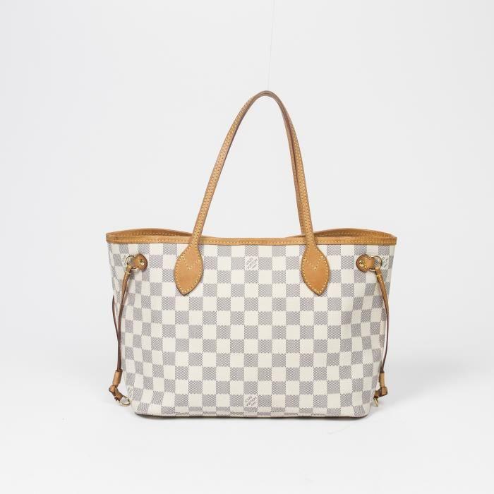 Louis Vuitton - Sac à main - Damier Azur White - 548 - Achat   Vente ... 30ee586fe8a