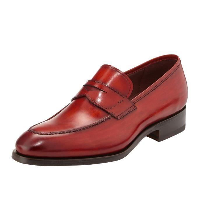 Oxfords avec véritable chaussures Jayjii cuir en pour Nancy bouts hommes carrés rétro wRzX75fx