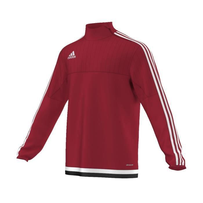 Training Top adidas Tiro Rouge - Achat   Vente t-shirt maillot de ... a1ee2882e66