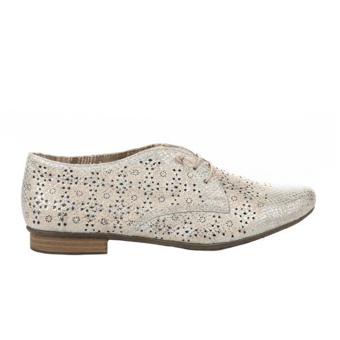 Chaussures à lacet femme - RIEKER - Beige Beige Beige - Achat ... f1e508c6e9a7