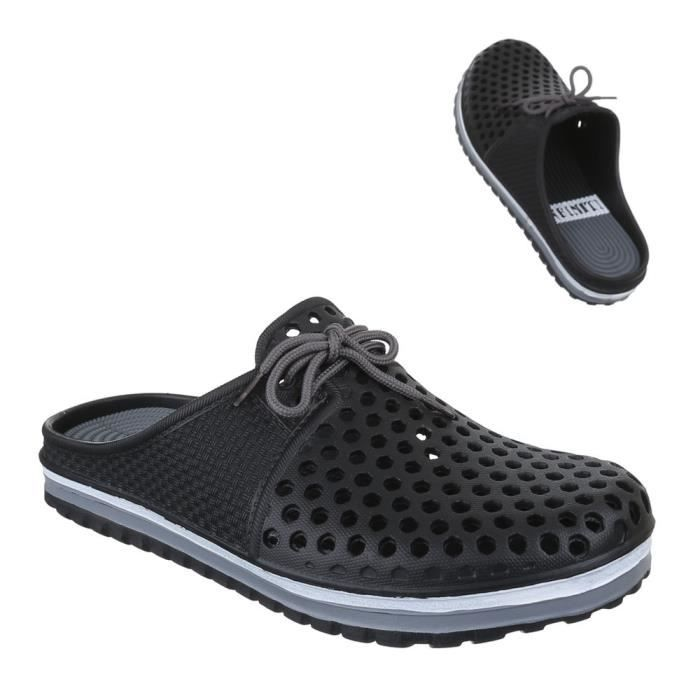 Chaussures homme sandales Clogs des pantoufles chaussons OzPxF