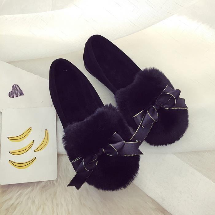 Peluche Automne En Slip Hiver Bottes Chaussures Femmes wll9438 Plate forme Chaud 8SZnqF