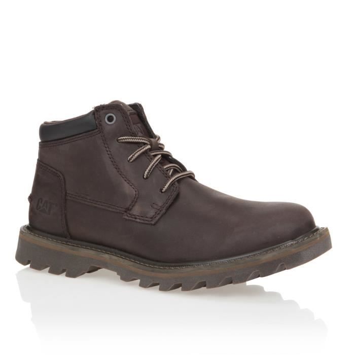 CATERPILLAR Bottines Doubleday Cuir Chaussures Homme