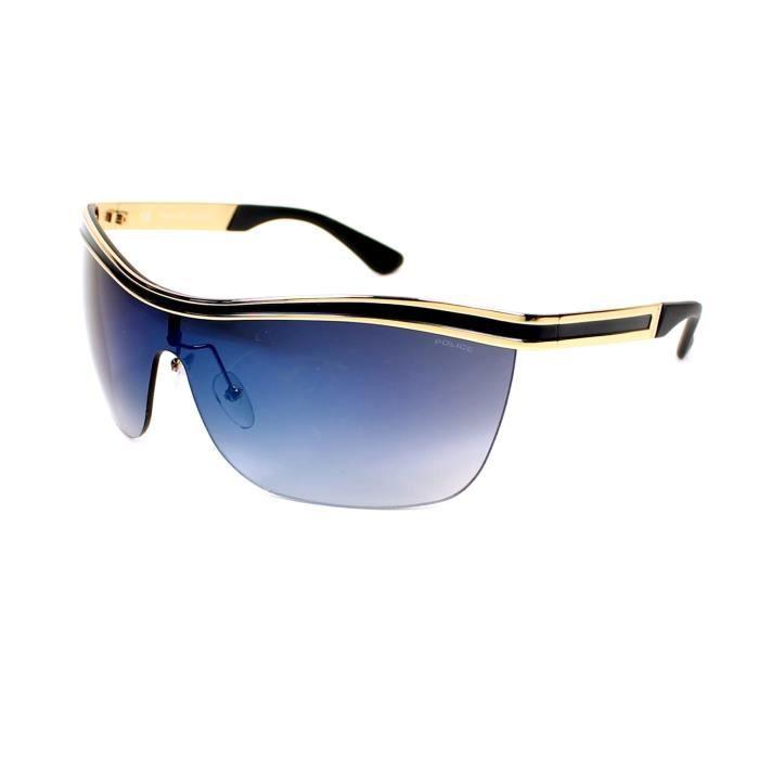 Police S8872 Des lunettes de soleil Noir 354B Homme Qt9HX
