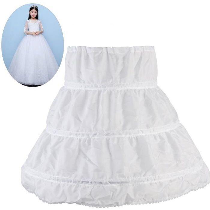 6a17c14fe862f WINOMO Jupon de Robe de cérémonie pour Enfants Crinoline princesse  Petticoat de Filles 2-14 ans  Bricolage