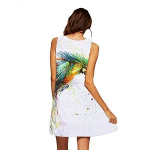 Maxi jpg Femmes Printing Robe D Ete Part Occasionnelle IIwgqHPT