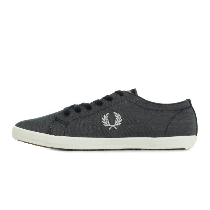 Baskets Fred Perry Kingston Chambray Navy