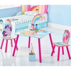 petite table et chaise pour enfants achat vente pas cher. Black Bedroom Furniture Sets. Home Design Ideas