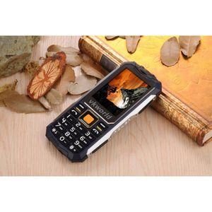 Téléphone portable VKWorld Pierre V3S robuste téléphone débloqué 2200