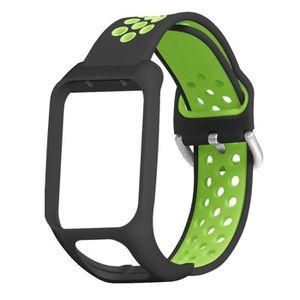 MONTRE Remplacement du bracelet montre silicone Sport Bra