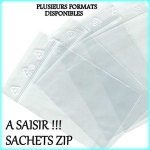 SAC ALIMENTAIRE Sachet alimentaire zip 300x400 50 unités