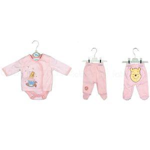 3cf9308f82b12 Ensemble de vêtements Ensemble tenue bébé fille Winnie l ourson 3-6 mois