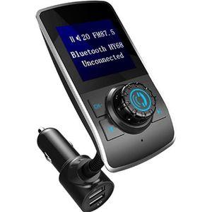 transmetteur fm bluetooth voiture main libre musique mp3 adaptateur radio sans fil kit achat. Black Bedroom Furniture Sets. Home Design Ideas
