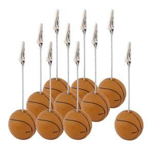 CADRE PHOTO Résine en forme basket ball bureau Décoration tabl