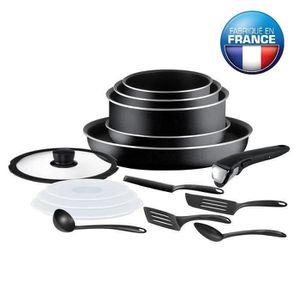 BATTERIE DE CUISINE TEFAL INGENIO ESSENTIAL Batterie de cuisine 15 piè