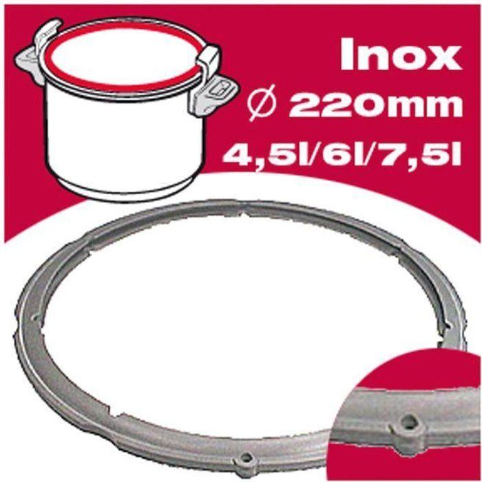 SEB Joint autocuiseur inox 980157 4,5-6L Ø22cm gris