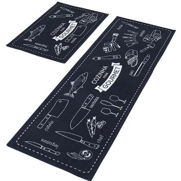 tapis de cuisine achat vente tapis de cuisine pas cher. Black Bedroom Furniture Sets. Home Design Ideas