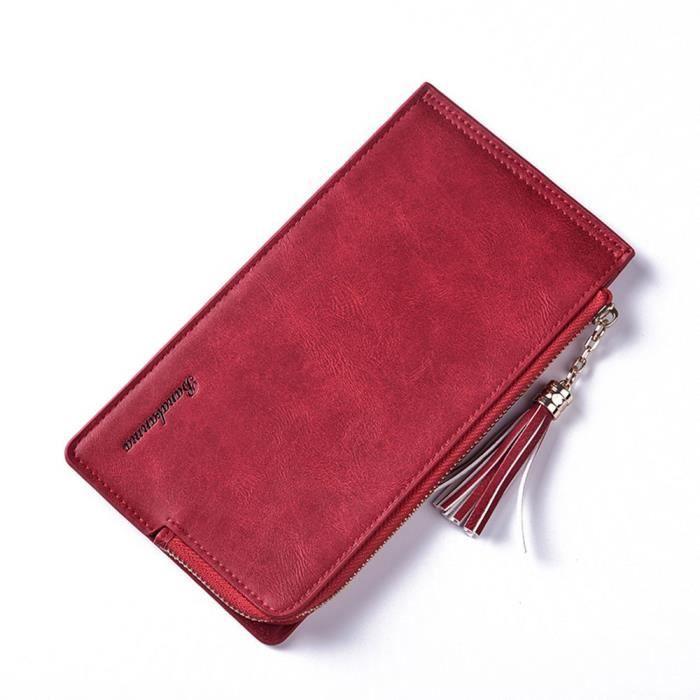 xpp11132551 Pour En Long Zipper Portefeuille Cuir Loisirs Napoulen®mode Femmes 8wCHqax
