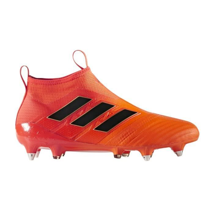 finest selection 82dd6 96b76 Chaussures football adidas ACE 17+ Purecontrol SG Orange