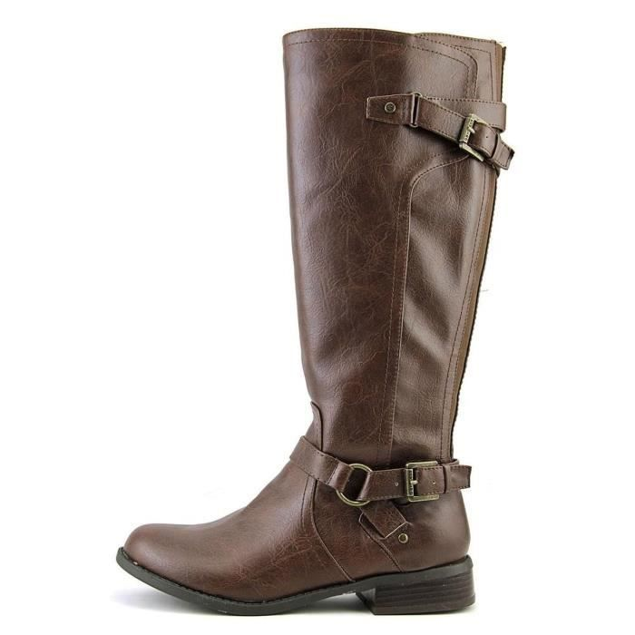 Femmes G by Guess HING WIDE CALF Bottes