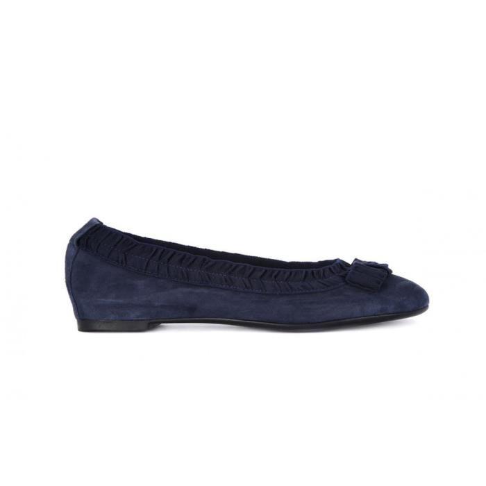 Chaussures Frau Camoscio Blu