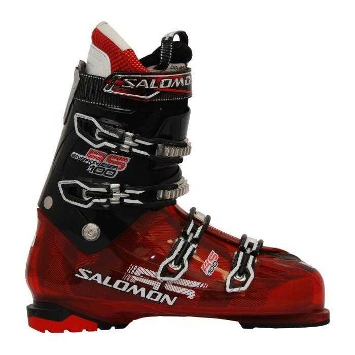 Cher Salomon Ski Prix Rouge De Chaussure Occasion 100 Pas Rs FKl1Tc3J