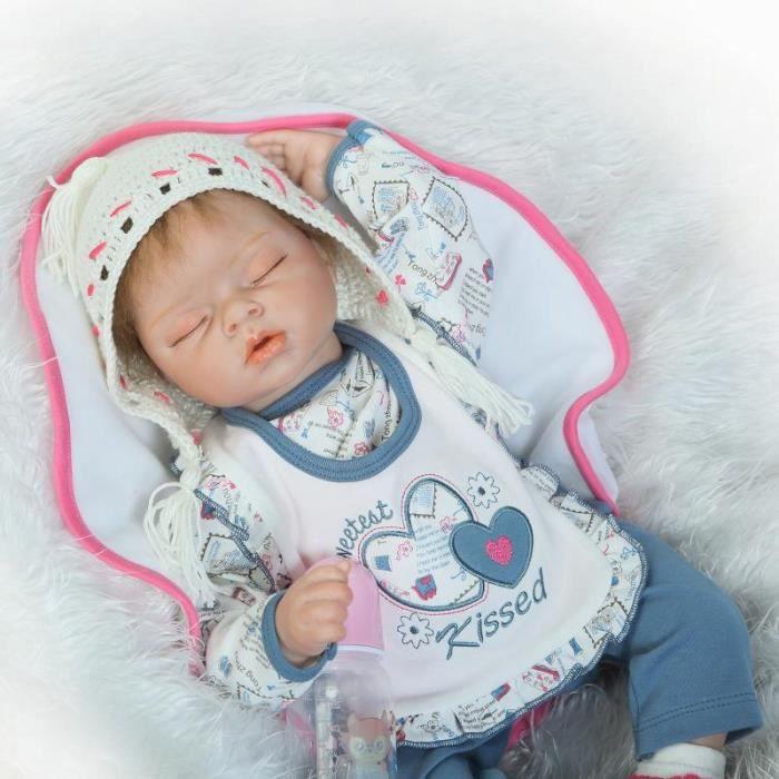 78a73a779226c 22 pouce 55 cm silicone reborn bebe poupees - Achat   Vente jeux et ...