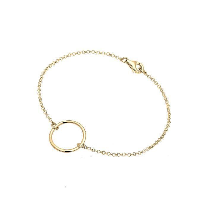 Elli Bracelets - Chaîne Et Gourmette Cercle LF6TZ