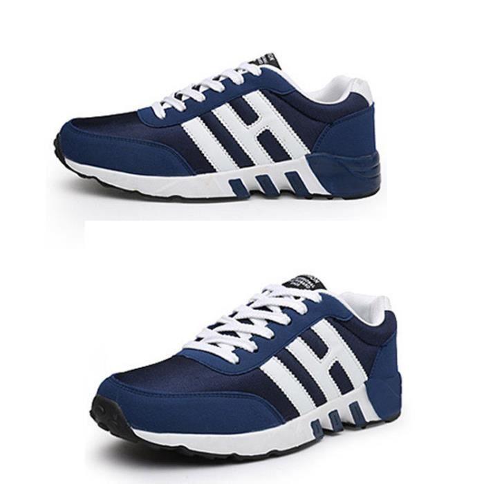 Basket de Sneaker bleu Basket blan homme homme Sneaker noir sport chaussure chaussure qIFwTSR