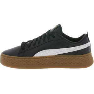 baskets-Les femmes de Pure talon Bande de couleur Wedge m tal d cor Platform Sneakers xlzLx8