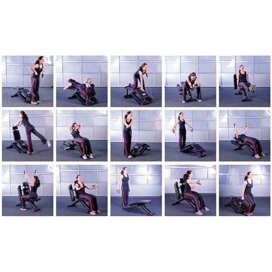 banc de musculation ''ht-640''