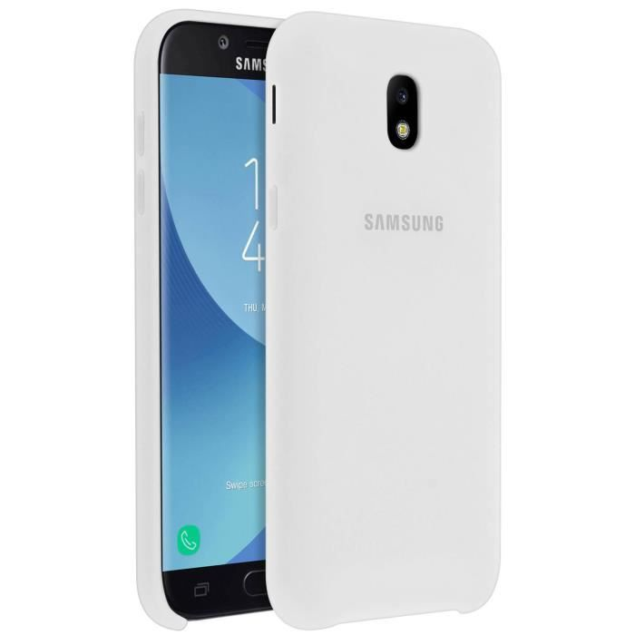 Samsung Coque double protection J5 2017 - Blanc