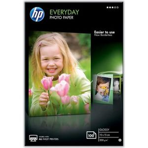FEUILLET MOBILE HP CR757A Papier d'impression photo Glossy - 100 f