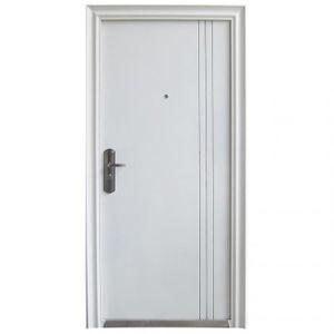 PORTE D'ENTRÉE Porte d'entrée blanche DIN gauche