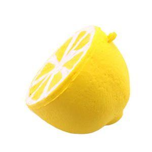 CONE - RUBAN CHANTIER Squishy Jumbo demi de fruits parfumés Super lente