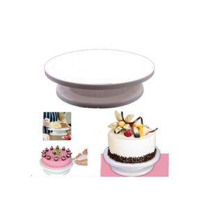 SET ACCESSOIRE CUISINE Gâteau tourne-disque plaque pivotante décoration s