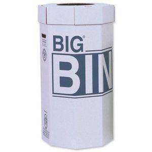 POUBELLE - CORBEILLE Réf 142958 Big Bin Lot De 5 Poubelles Carton Recyc