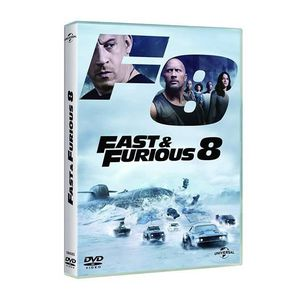 DVD FILM The Fate of the Furious (FAST & FURIOUS 8 - DVD -,