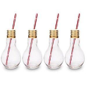 Verre à cocktail CKB Ltd® Lot de 4 Edison Light Bulb Ampoule Verres