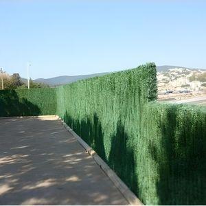 HAIE DE JARDIN Haie végétale artificielle 110 brins 3 m