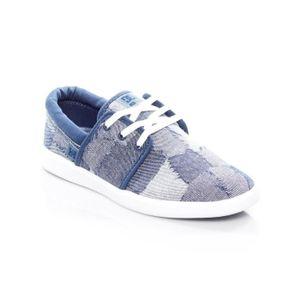 Chaussures Femme DC Heathrow TX LE Bleu-Bleu-Blanc eQhsd