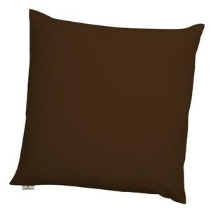 housse de coussin marron 50x50 achat vente housse de coussin marron 50x50 pas cher cdiscount. Black Bedroom Furniture Sets. Home Design Ideas