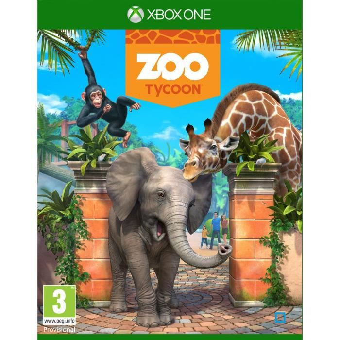 zoo tycoon jeu xbox one avis test cdiscount. Black Bedroom Furniture Sets. Home Design Ideas